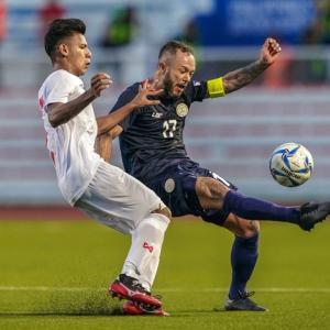 U22 Philippines suy sụp sau khi bị loại vì kém 1 bàn thắng
