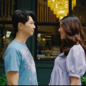 Á hậu Thuý Vân tung clip hé lộ chuyện tình với ông xã đại gia sau hôn lễ lãng mạn