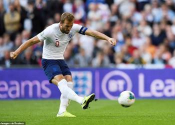 Harry Kane lập hat-trick trong chiến thắng của tuyển Anh