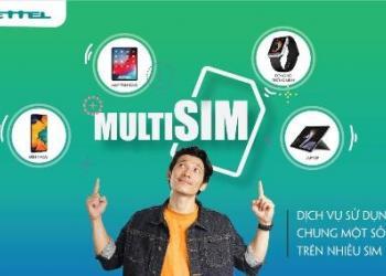 Viettel tung ra dịch vụ MultiSIM – Dùng 4 sim trên 1 điện thoại
