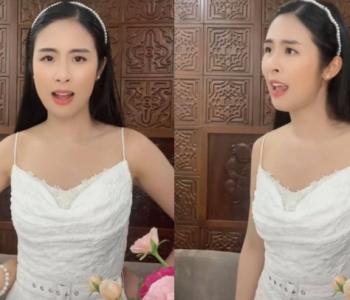 Ngọc Hân bị chê khi đăng clip bắt trend hát nhép bài hát trên MXH