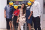 Bức ảnh Hương Giang bị thương ở chân phải bó bột bị antifan đào lại để chỉ trích