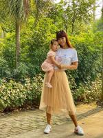 Dù đã chia tay, Hà Anh vẫn thân thiết với mẹ và bà bạn trai cũ