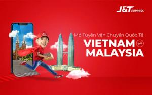 J&T Express mở rộng thêm nhiều tuyến quốc tế