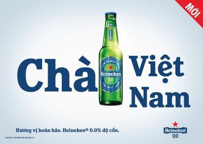 Heineken ra mắt bia không cồn tại Việt Nam