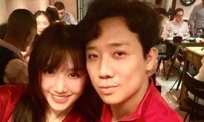 Không chỉ nhận từ ông xã, Hari Won cũng cho thấy chăm sóc Trấn Thành chu đáo chỉ bằng một chi tiết nhỏ
